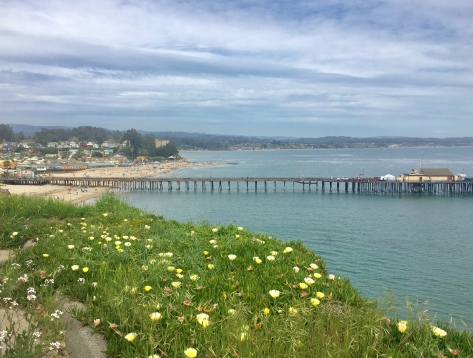 Over looking Capitola